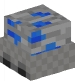 Minecart with Lapis Ore