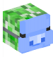 Creeper with Wumpus Mask