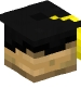 Graduation Cap (black, gold)