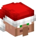 Villager with Santa Hat