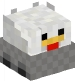 Chicken Doll in a Minecart