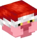 Pink Pather with Santa Hat