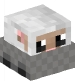 Sheep Doll in a Minecart
