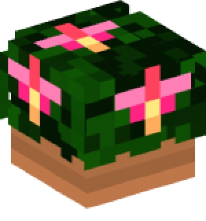 Flower Pot Minecraft Head Flowers Healthy