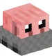 Pig Doll in a Minecart