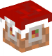 Command Block with Christmas cap