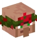 Villager with Wreath Hat