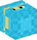 Shulker (light blue, up)