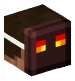 Man with Magma Cube Mask