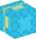 Shulker (light blue, down)