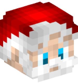 Christmas Minecraft Santa.Christmas