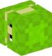 Shulker (lime, left)