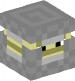 Shulker (light gray, upsidedown)